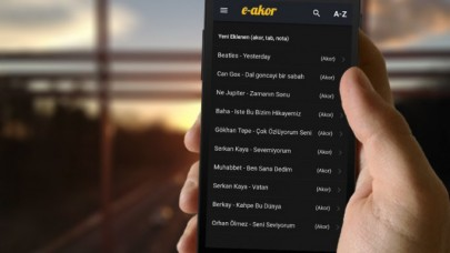 E-akor.com Android Mobil Uygulamamız Yayında.